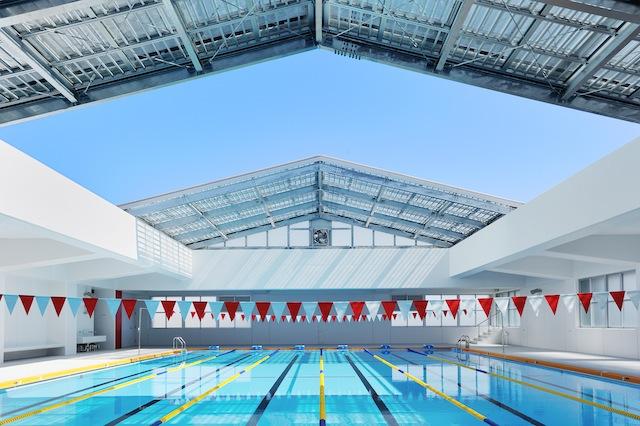 あかね台中学校屋内プール | Pool of akanedai junior high school