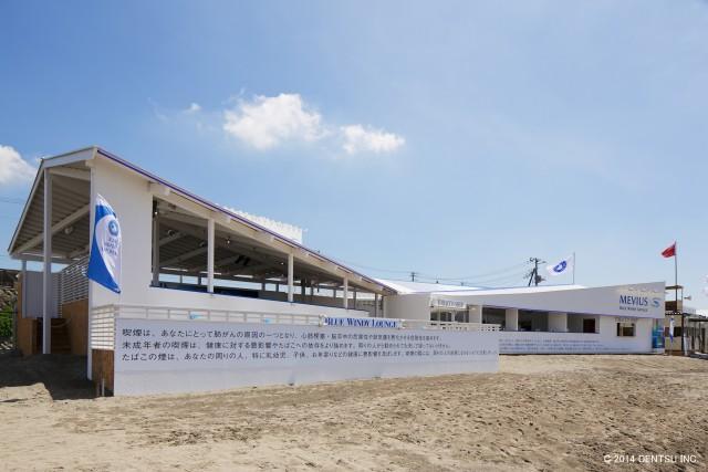 由比ケ浜の海の家 2014 BLUE WINDY LOUNGE | Beach House in Yuigahama 2014