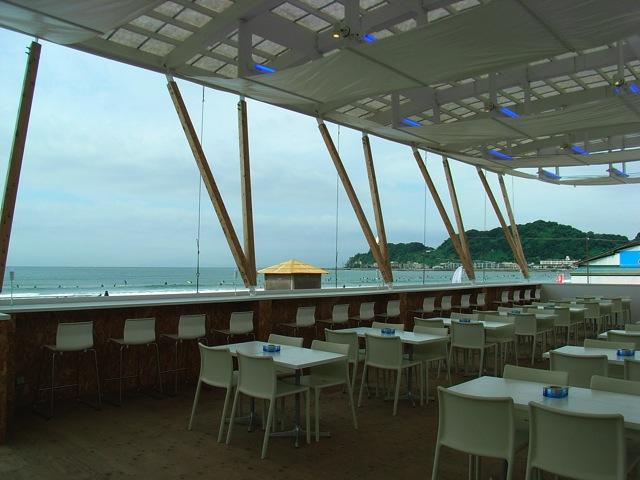 由比ケ浜の海の家2009-2010 BLUE WINDY TERRACE | Beach House in Yuigahama 2009-2010