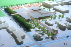 平田町タウンセンターコンペ案 | Town Center in Hiratamachi Proposal
