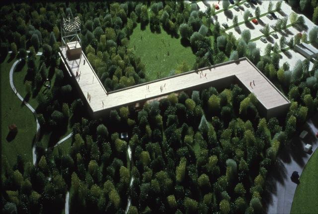 霧島彫刻ふれあいの森アートホールコンペ案 | Kirishima Art Hall Proposal